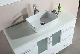 bathroom vessel sink and faucet glass bathroom basins black