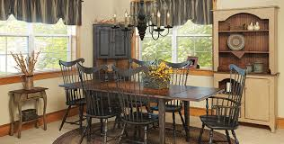 Primitive Dining Room Tables Primitive Dining Room Sets 13204