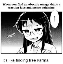 Manga Meme - 25 best memes about reaction face reaction face memes