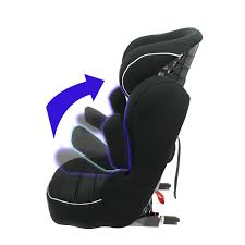 notice siege auto tex mycarsit high back booster seat with isofix harness grey
