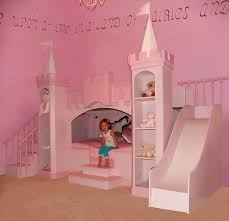 girls bedroom ideas with palace bed kids bedroom decorating ideas