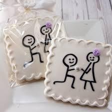 wedding cookies engagement cookies wedding cookies stick figure 12