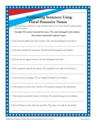 Plural Form Of Resume Ideas Of Plural Possessive Nouns Worksheets With Resume Shishita