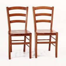 chaise en chaise en bois rustique avec assise bois brocéliande 4 pieds