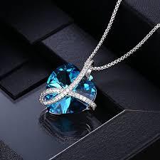 amazon black friday jewelry swarovski amazon com xuping black friday heart of love crystals from