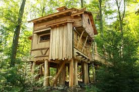 Free Standing Tree House Plans Modern Pdf Single Treehouse For