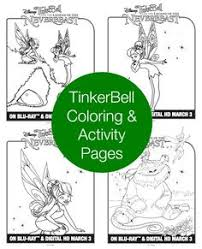 tinkerbell friends rosetta coloring pages coloring pages