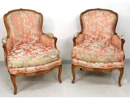 Louis Xv Armchairs Pair Of Louis Xv Armchairs Carved Walnut Armchairs Stamp J Nadal