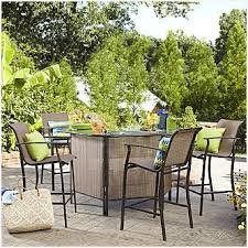 Hton Bay Patio Table Replacement Glass Bar Height Patio Table And Chairs Get Minimalist Impression