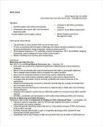 free marketing resume templates resume samples resume examples