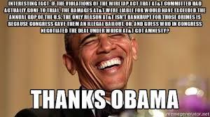 Thanks Meme - thanks obama meme goblin refuge