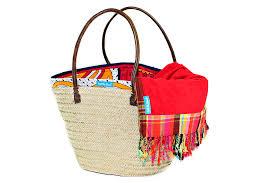 Beach Basket Kikoy U0027 Towel U0026 Beach Basket Combo Hit The Beach