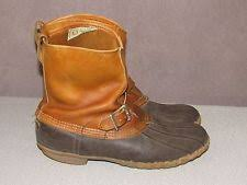 s bean boots size 9 l l bean narrow c b boots for ebay