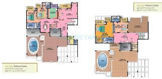Pent House Floor Plan by 4 Bhk 5994 Sq Ft Penthouse For Sale In Sahara Grace Gurgaon At