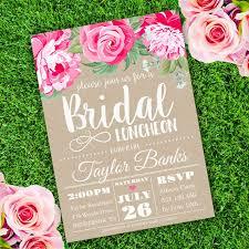 bridal shower luncheon invitations printable bridal shower invitations you can diy