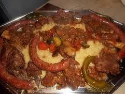 recette cuisine couscous recette de couscous d agneau aux sept légumes