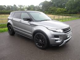 land rover range rover evoque black used land rover range rover evoque hatchback 2 2 sd4 dynamic lux