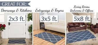 Area Rug Square 3 X 5 Area Rug Square Navy Blue Trellis Wool Rugs Brown