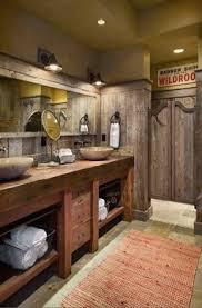 Rustic Bathroom Designs - small