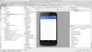 android stuido プロジェクトの作成 android studio