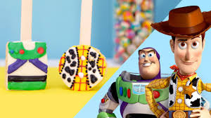 toy story recipes woody buzz rice crispy pops disney video