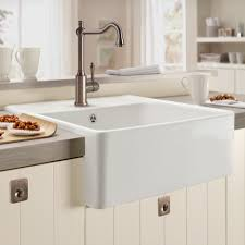 B Q White Kitchen Sinks Stylishceramic Kitchen Sinks The New Way Home Decor