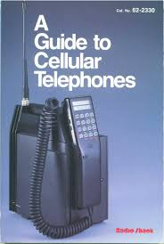 a guide to cellular telephones 1986 radio shack book 135