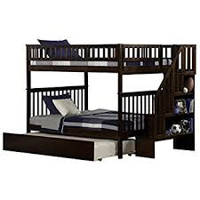 Amazoncom Bunk Beds Full Over Full Size With Ladder Superior - Full over full bunk bed