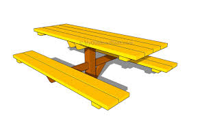 Plans For Building A Wood Picnic Table by Plans Building Wooden Picnic Tables Discover Woodworking Projects