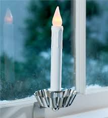 7 1 2 h battery powered colonial window candle lighting
