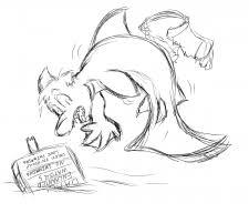 art by virmir fish poke sketch