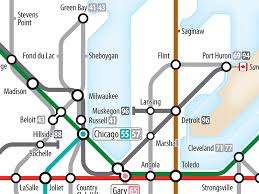map us interstate system project interstates as subway diagram revised version cameron