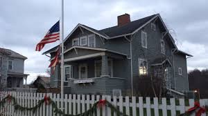 Indiana Flags At Half Staff Recital At Muskingum University Memorializes John And Annie Glenn