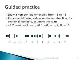 introducing rational u0026 irrational numbers power point lesson tpt