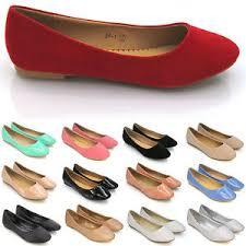 wedding shoes essex new womens flat pumps glitter ballet ballerina dolly bridal