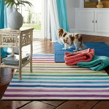 The Company Store Rugs Colorful Striped Rug Roselawnlutheran
