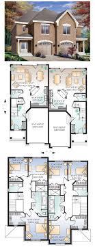 unit designs floor plans modern house plans townhouse plan triplex designs simple 9