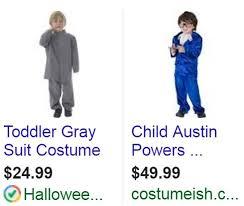 Austin Powers Halloween Costumes Halloween Costumes 2016 Paid Ad Spend Adgooroo