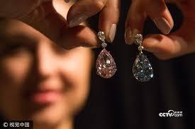 world s most expensive earrings sotheby s sells world s most expensive earrings for 45 million