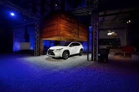 lexus nx 300h f sport 2015 lexus nx says hi from milan design week in new pics autoevolution