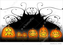halloween background funny halloween pumpkin back stock illustration i1447483 at featurepics