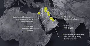 Central And Southwest Asia Map by Operations Maintenance And Defense Of Army Communications In