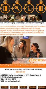 132 best play escape game live københavn denmark images on