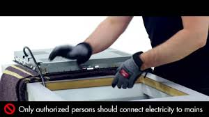 how to install your aeg hob youtube