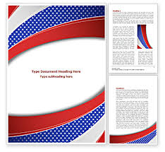 elections theme word template 08290 poweredtemplate com