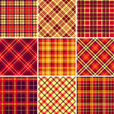 plaid fabric patterns seamless vector free vector in encapsulated