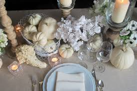 all white thanksgiving table decor hmr designs