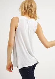 Bench Online Sale New Bench Bumerang Vest Light Gray Marl For Women Online Sale