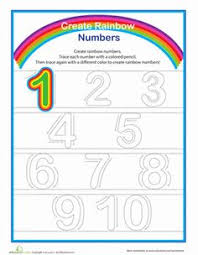 tracing numbers u0026 counting 6 worksheets numbers and count