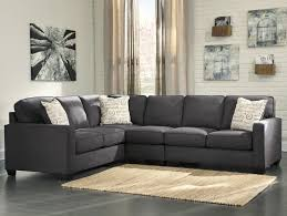 3pc Living Room Set Signature Design By Ashley Alenya Charcoal 3 Piece Sectional